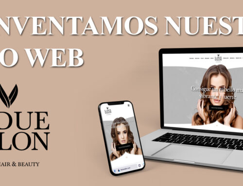 Reinventamos nuestra web Le DUE SALON